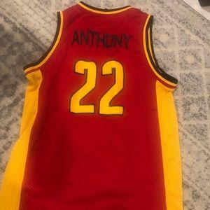 Vintage Carmelo Anthony Jersey